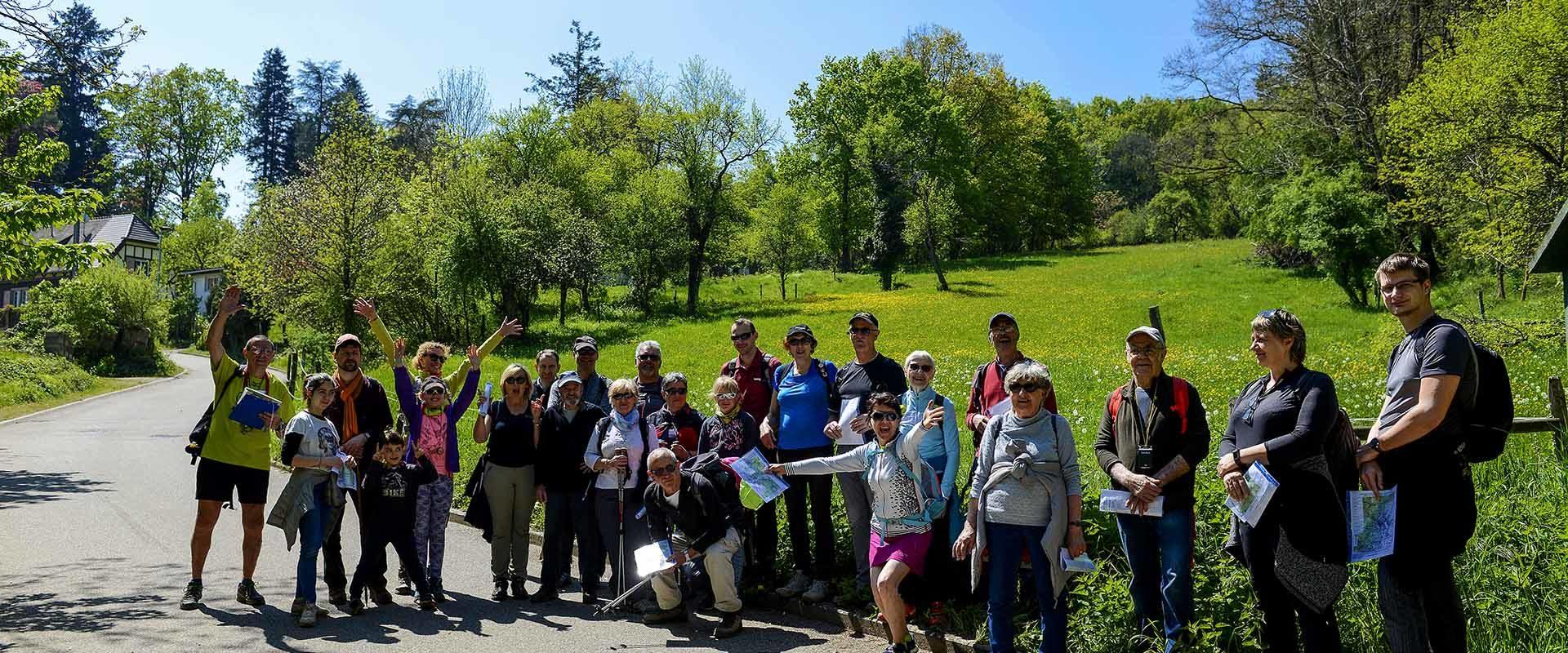 Initiation marche d'orientation du 1er mai 2019 à Wattwiller