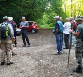 Travaux dans le secteur de Steinbach. Briefing du président du CVC Christian Schott