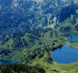 Pyréenés Ariège : Les étangs de Rabassoles. Photo : Marianne Tolomio