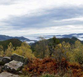 Sortie surprise 20 10 2019. Vue panoramique depuis le temple du Donon Photo : Yves Crozelon
