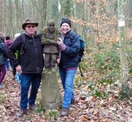 Sortie Dietwiller 19-01-2020. Henri et Marceline. Photo: Danielle Natter