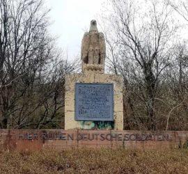 25-02-2020 1/2 journée autour de Zillisheim. Mémorial cimetière Allemand Photo : Yves Ziegler