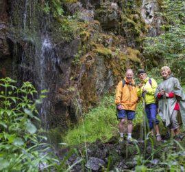 Le Tour du vallon Kaltenbach 15-07-2020. Cascade du Kaltenbach. Photo: Yves Crozelon