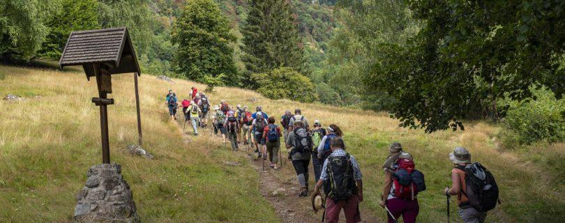 Départ à la découverte du lac Fischboedlé et du lac du Schiessrothried. Photo: Yves Crozelon