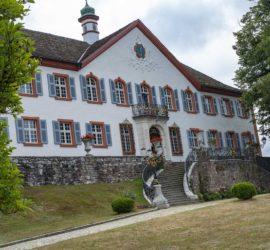 Kandern 02-08-2020. Le Schloss Bürgern. Photo: Yves Crozelon
