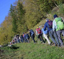 Sortie surprise à La Bresse 18-10-2020. Le groupe I . Photo: Yves Crozelon