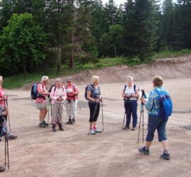 Randonnée sur le Haut-Du-Tôt, le groupe II. Le 20-06-2021.
