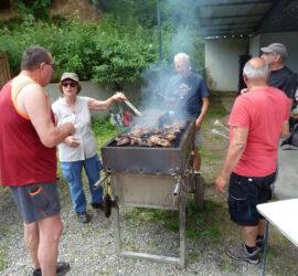 25-07-2021 Les maîtres du barbecue à la clairière du Silbertahl Photo: Danielle Natter
